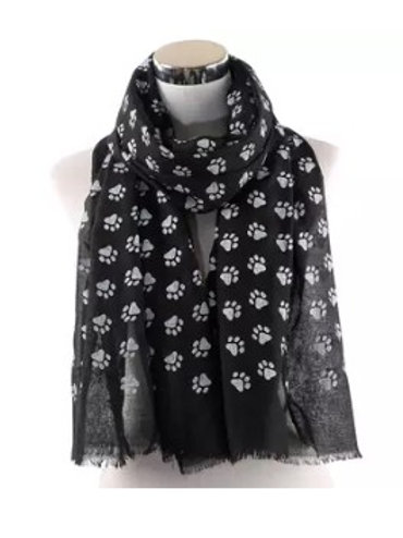 Paw Print Scarf (Click for Colour Range)