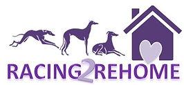 Racing2Rehome Greyhound logo