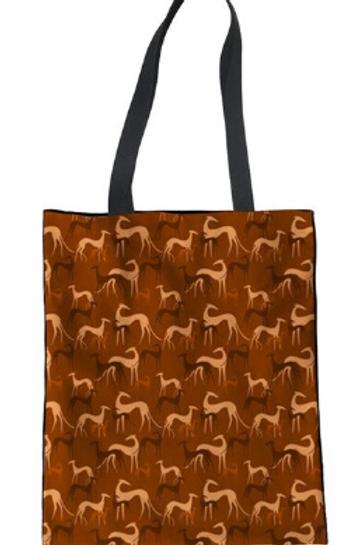 Carry Bags Greyhound Print
