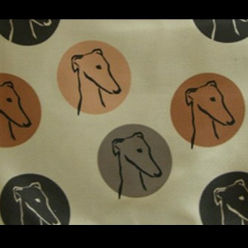 Tote Bag Greyhounds in Circles