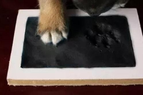 Keepsake No Touch Paw Print Inkpad (Black or Pink Ink)