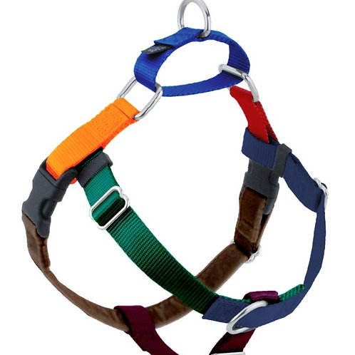 Multi Coloured Freedom No-pull Harnesses: Extra Large/ Large