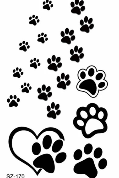 Temporary Tattoos For Hoomans (Click for Design Range)