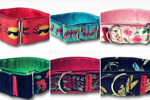 40mm Martingale Collars-Red Hot Pet [Click for Design Range]