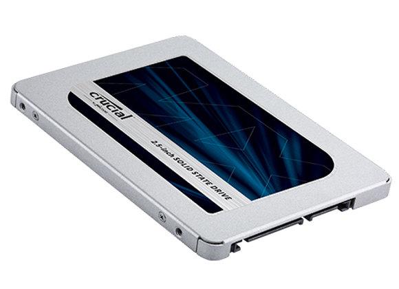 כונן Crucial MX500 500GB SATA III SSD