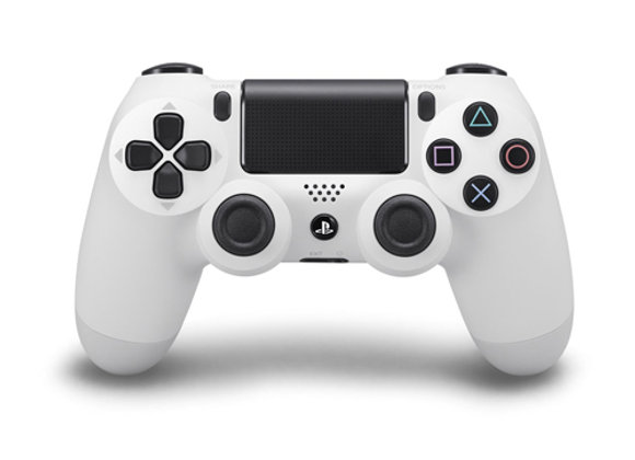 בקר אלחוטי לבן Sony PS4 DUALSHOCK 4 Wireless Controller Glacier White