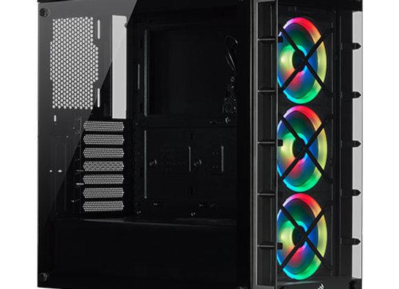 מארז מחשב Corsair iCUE 465X RGB בצבע שחור