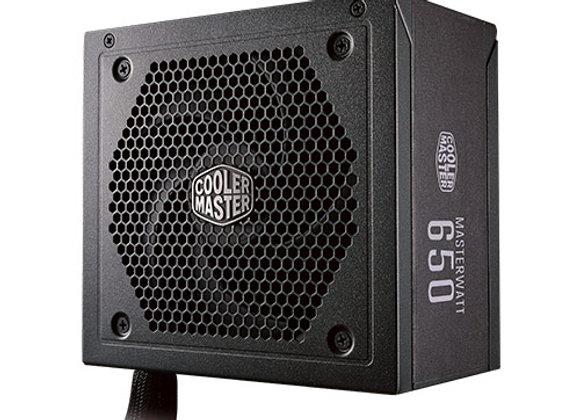 ספק כח אקטיבי Cooler MasterWatt 650 80 PLUS Bronze Semi-Modular 650W
