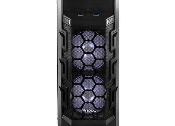 מארז מחשב Antec GX202 בצבע שחור כולל חלון צד