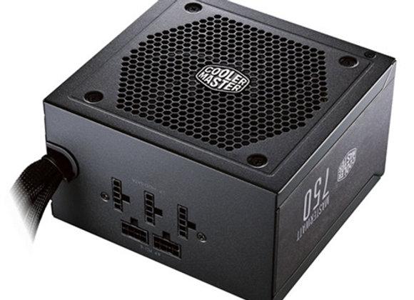 ספק כח אקטיבי חצי מודולרי Cooler MasterWatt 750 80+ Bronze 750W