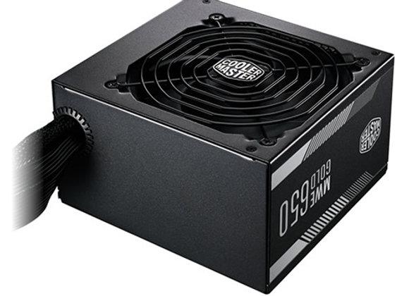 ספק כח אקטיבי Cooler Master MWE Gold 650 80+ Gold 650W