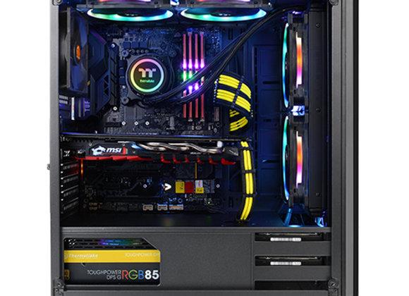 מארז מחשב Antec NX200 בצבע שחור כולל חלון צד