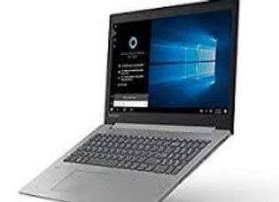 """מחשב נייד """"15.6 Lenovo IdeaPad 330-15 81DE00AWIV i3-7020U בצבע שחור זיכרון 4GB D"""