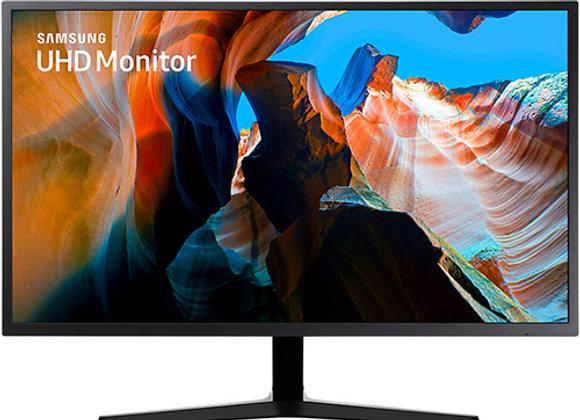 """מסך מחשב """"31.5 Samsung UJ590 UHD 4K QLED U32J590UQM"""