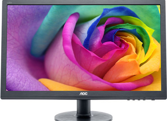 """מסך מחשב """"21.5 AOC LED E2260SWDA"""