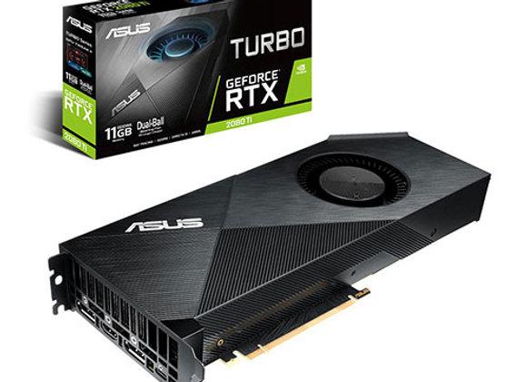 כרטיס מסך Asus Turbo Nvidia GeForce RTX 2080 Ti 11GB GDDR6 TURBO-RTX2080TI-11G