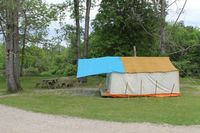 Prospector tent for rent