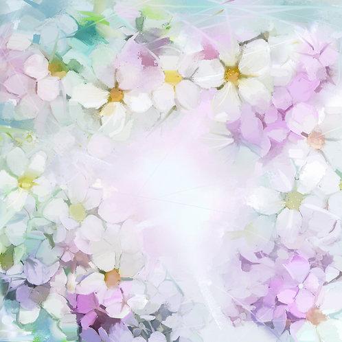 Fotografico Tecido Helanca Light - Floral - Cod. 0593