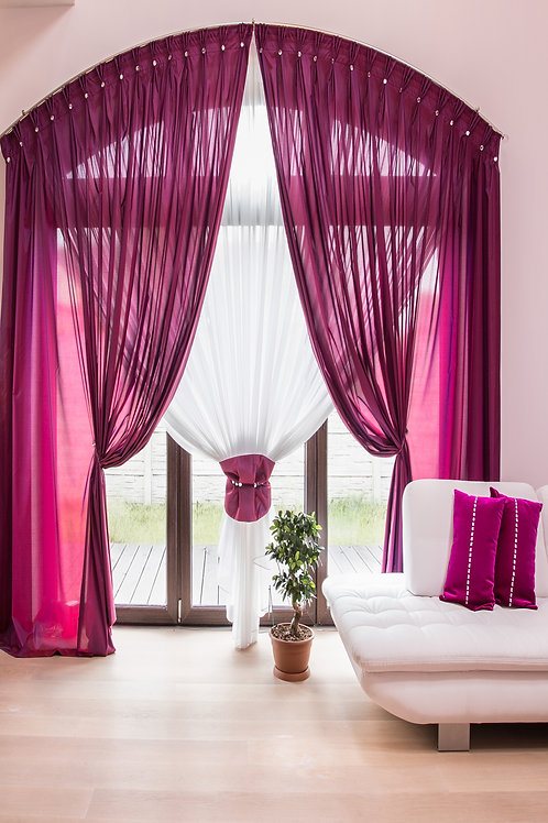 Fundo Fotográfico em Tecido Helanca Light -cortinas