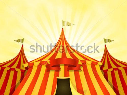 Fundo Fotográfico em Tecido Helanca Light - Circo