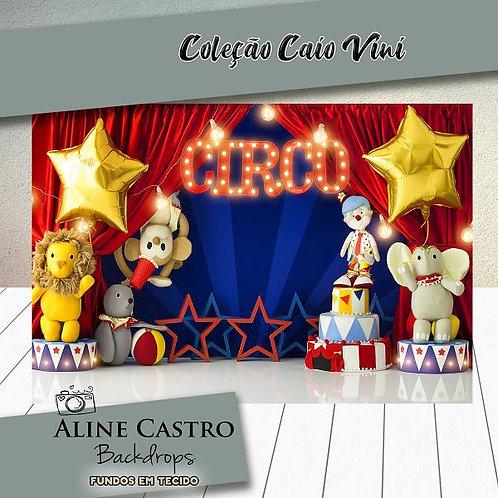 Fundo Fotográfico em Tecido Helanca Light - Circo - Caio Vini