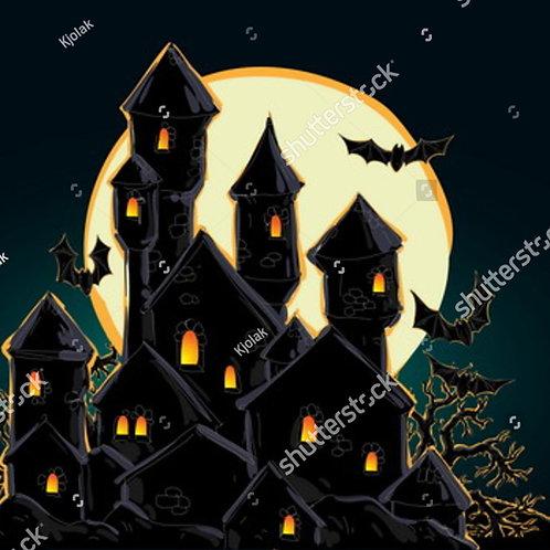 Fundo Fotográfico em Tecido Helanca Light - Halloween