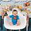 Thumbnail: Fundo Fotografico Tecido Helanca Light- Super Heroi - Cod. 0407