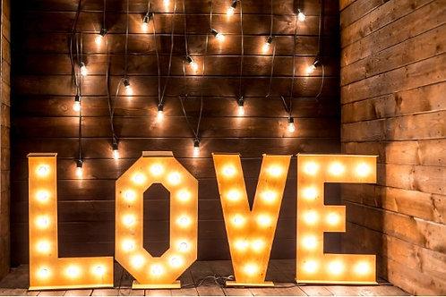 Fundo Fotográfico em Tecido Helanca Light - Love
