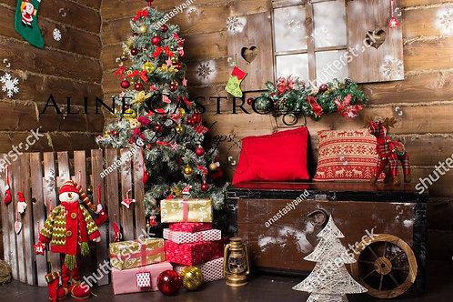 Fotografico Tecido Helanca Light - Natal