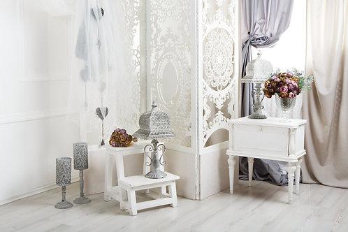 Fundo Fotografico Tecido Helanca Light - Floral Decoração Cortina