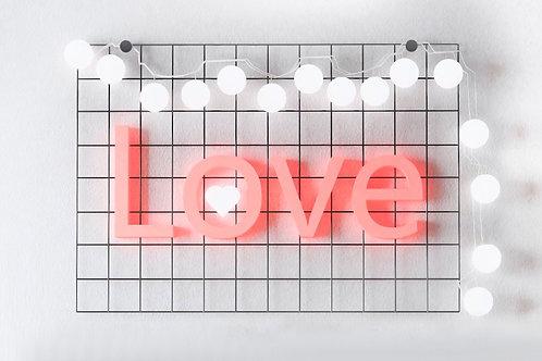 Fundo Fotográfico em Tecido Helanca Light -Love