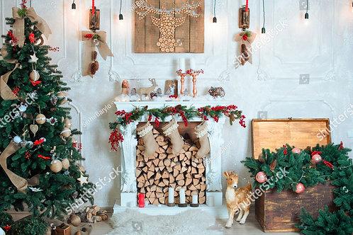 Fundo Fotográfico em Tecido Helanca Light - Natal