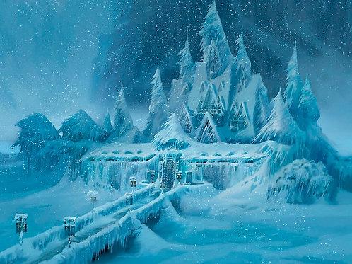 Fundo Fotográfico em Tecido Helanca Light - Frozen
