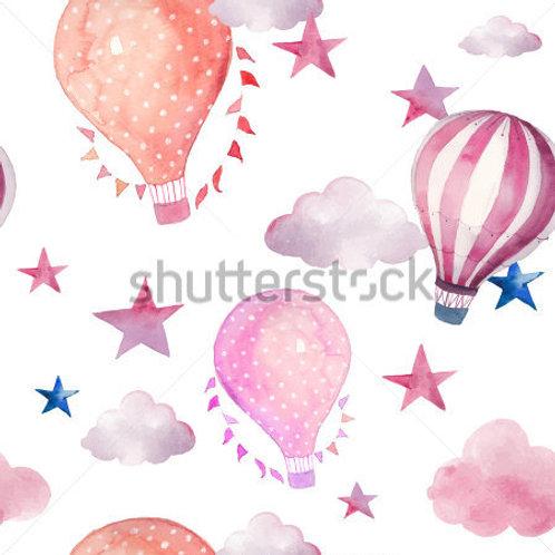 Fundo Fotográfico em Tecido Helanca Light - Balões