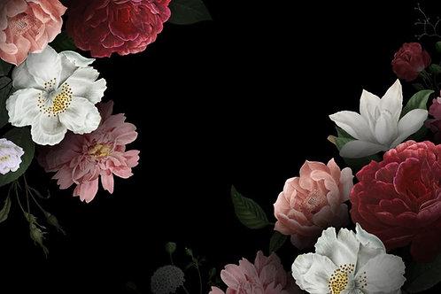 Fundo Fotográfico em Tecido Helanca Light - Floral