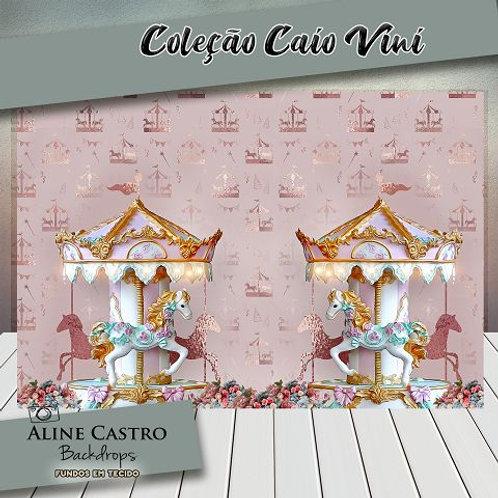 Fundo Fotográfico em Tecido Helanca Light - Carrossel - Caio Vini