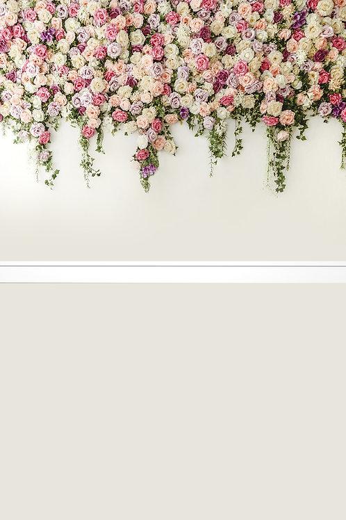 Fundo Fotográfico em Tecido Helanca Light - parede e piso
