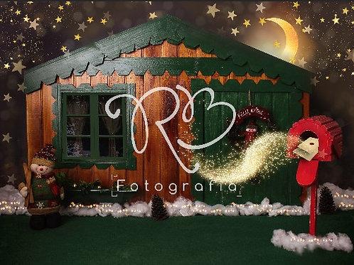 Fundo Fotográfico em Tecido Helanca Light - Natal -Raquel Bittencourt Aguiar