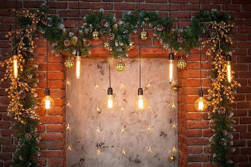 Fundo Fotografico Tecido Helanca Light - Natal