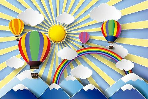 Fundo Fotográfico em Tecido Helanca Light - Balão
