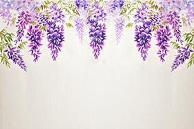 Fundo Fotografico Tecido Helanca Light - Floral