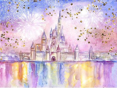 Fundo Fotográfico em Tecido Helanca Light - Disney