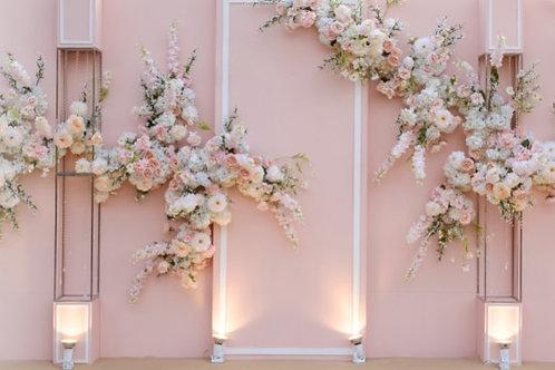 Fundo Fotográfico em Tecido Helanca Light -Floral