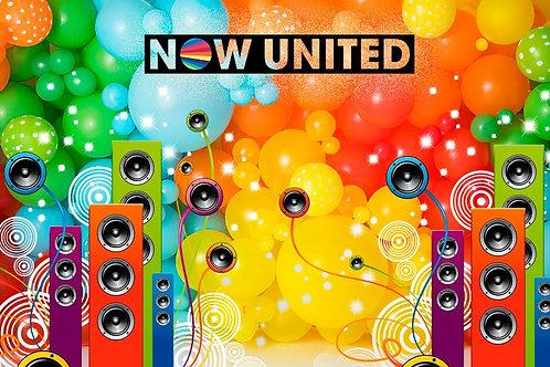 Fundo Fotográfico em Tecido Helanca Light - Now United