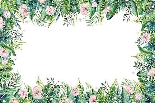 Fotografico Tecido Helanca Light - Floral