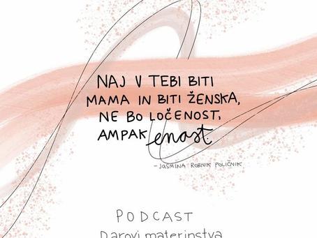 Menstrualni počitek mi daje moč - podcast