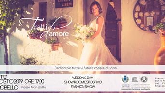 «Wedding Day – Tratti d'Amore», appuntamento sabato 31 agosto