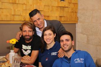 «Il nuoto si fa in 3», che successo l'evento con Rosolino, Boni e Gilli!