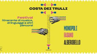 Festival Costa dei Trulli, artisti internazionali da Monopoli a Fasano