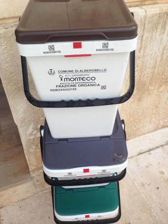 Alberobello, raccoltadifferenziata